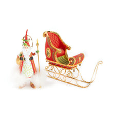 Load image into Gallery viewer, Patience Brewster Dash Away Nicholas Santa Ornament