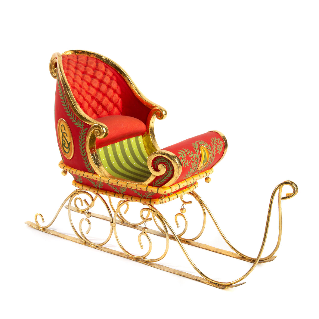 Patience Brewster Dash Away Sleigh Figure