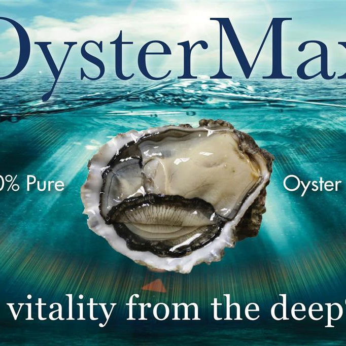 OYSTERMAX- A NATURAL BIO-AVAILABLE SOURCE OF ZINC .... AND SO MUCH MORE