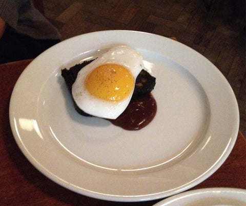 Egg and Black Pudding - St. John's Bread & Wine, London, United Kingdom