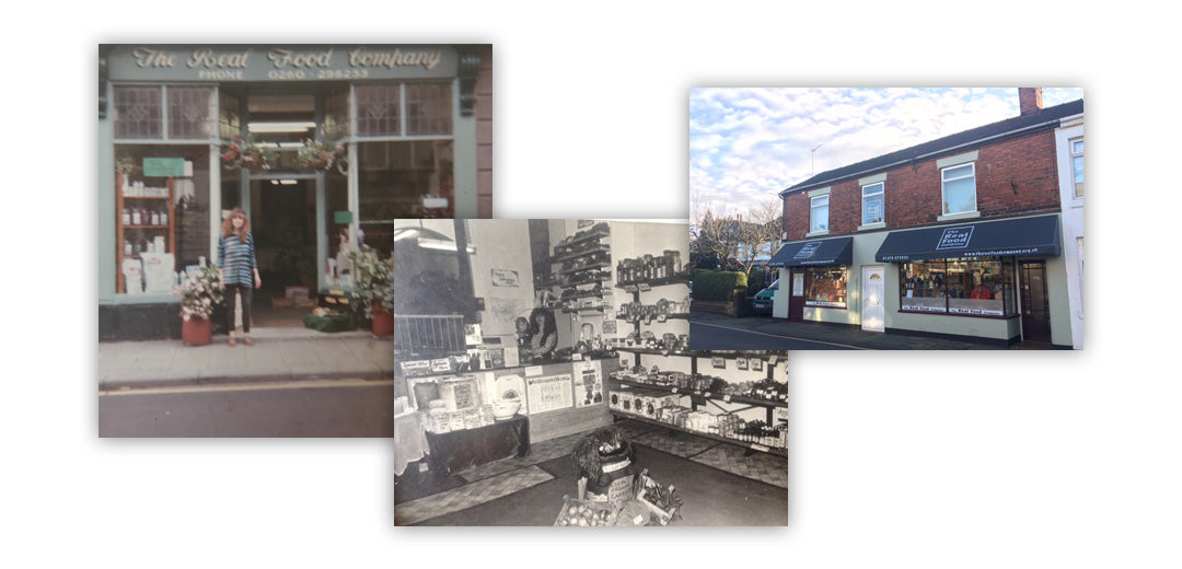 Our Shop Over The Years