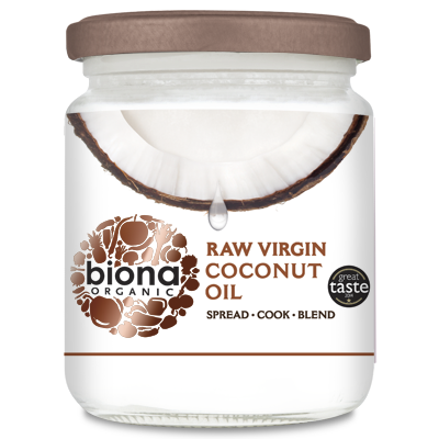 Organic Raw Unrefined Coconut Oil 200g
