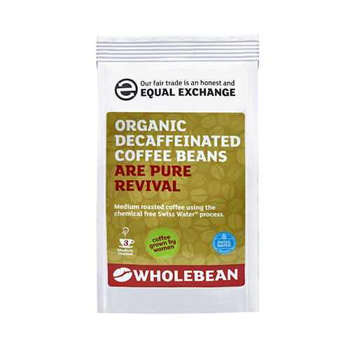 Organic Decaffeinated Coffee Beans 227g