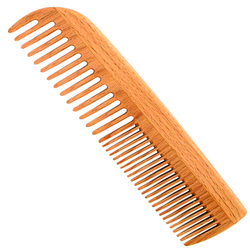 Medium Tooth Hair Comb - Beech Wood