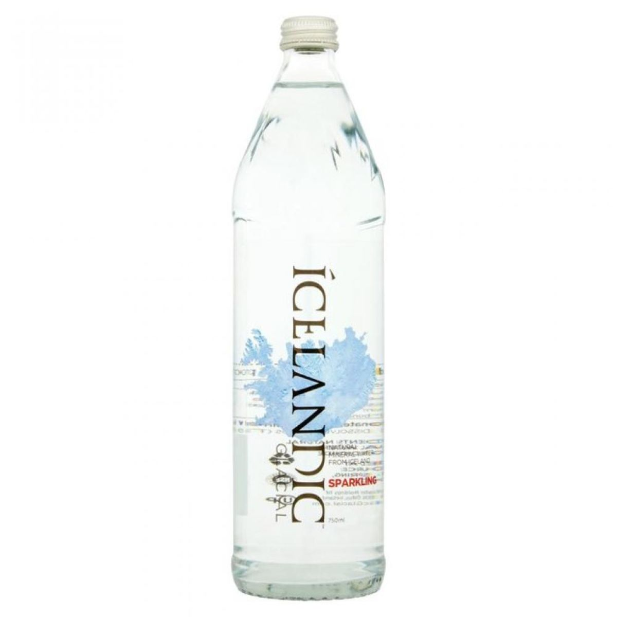 Glacial water 750ml - Sparkling