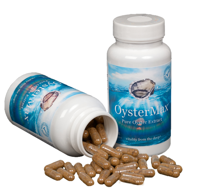 OysterMax Oyster Extract - 120 capsules