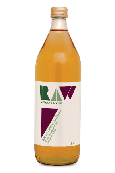Raw Organic Apple Cider Vinegar with the Mother - 1L