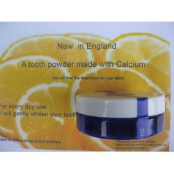 Organic Tooth Cleaning Powder - Lemon 35g - Now in Glass Jars