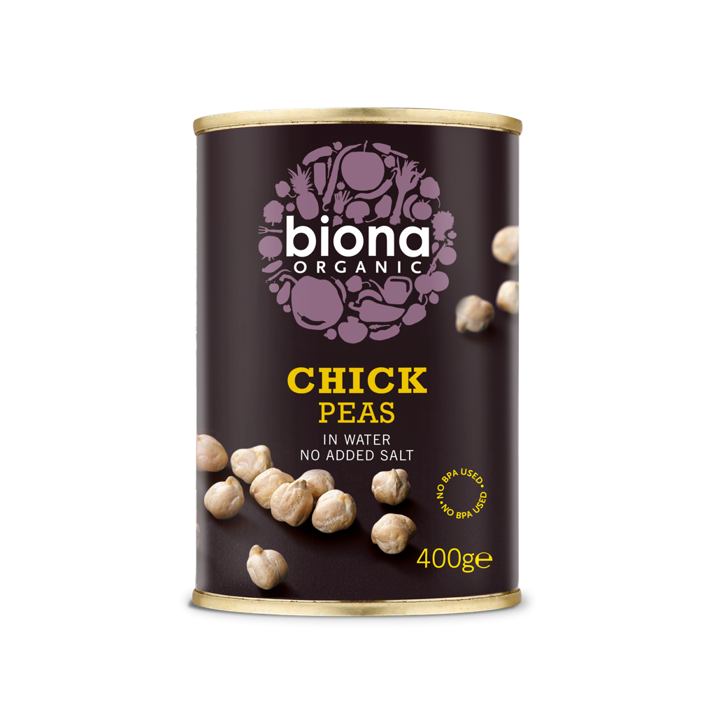 Organic Chick Peas 400g can