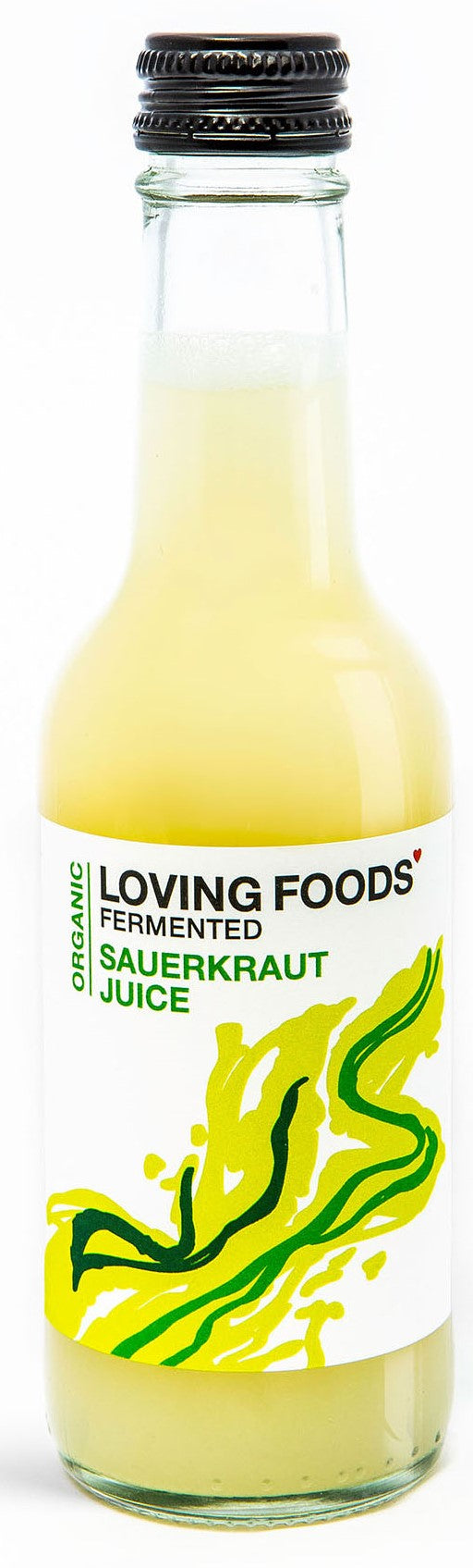 Raw Unpasteurised Sauerkraut Juice - 250ml