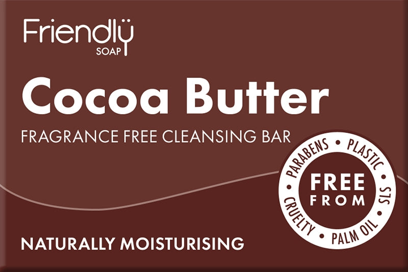 Friendly Cocoa Butter Cleansing Bar - 95g ph 8-9