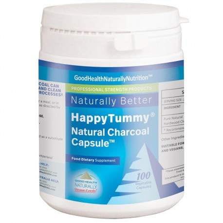 Happy Tummy Charcoal Capsules