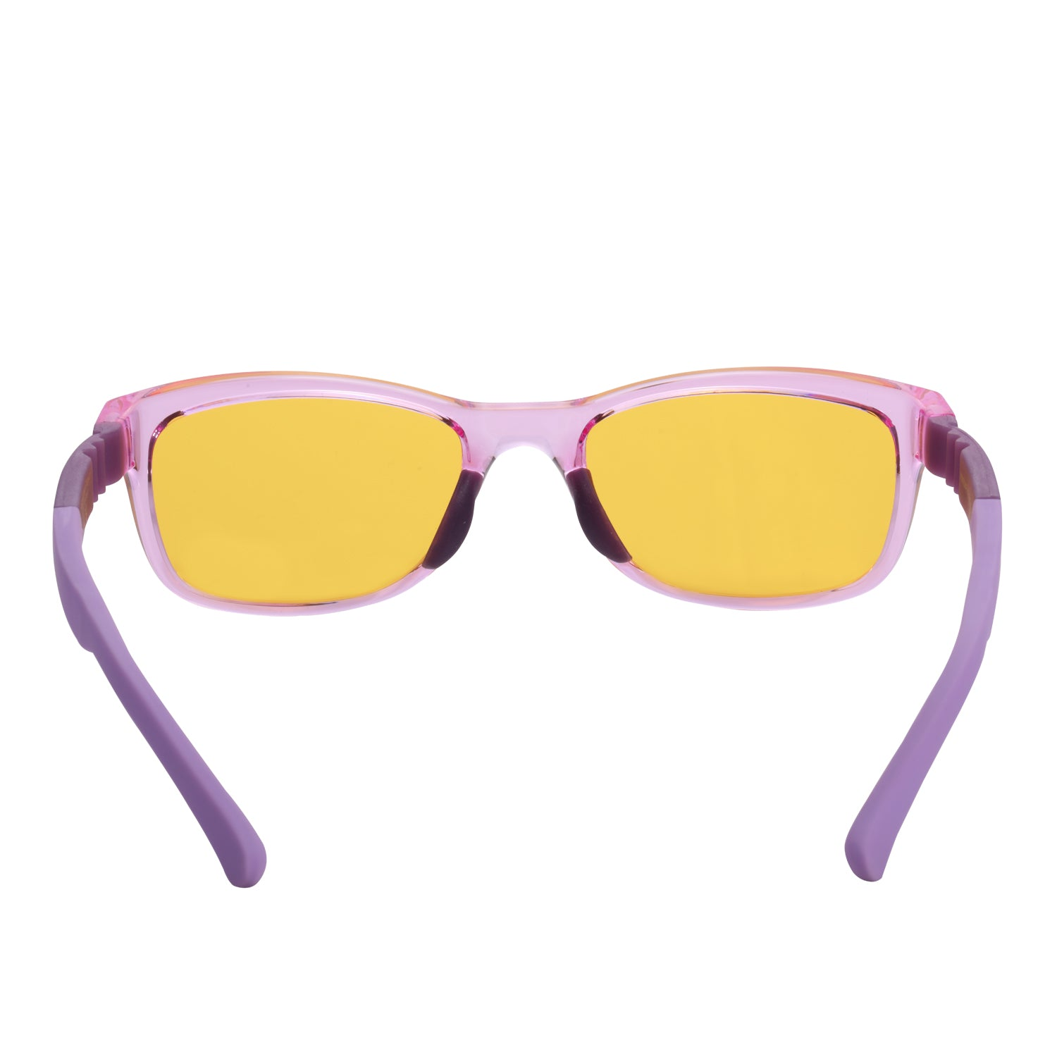 PRiSMA KiDS Blue Light Blocking Glasses for Children & Small Adults -  Strong and flexible nylon frame - pink