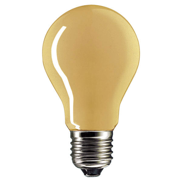 Amber Incandescent Light Bulb E27 - standard screw - 40W