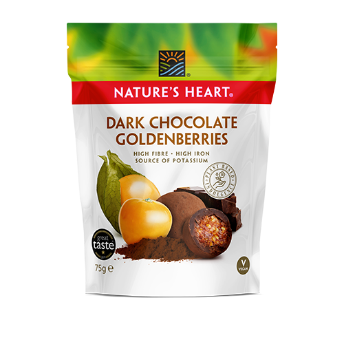 Raw Chocolate Covered Golden Berries 75g