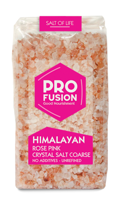 Himalayan Rose Pink Unrefined Salt - 500g - Coarse