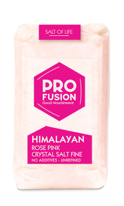 Himalayan Rose Pink Unrefined Salt - 500g - Finely ground