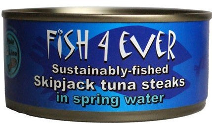 Skipjack Tuna Steaks In Spring Water 160g