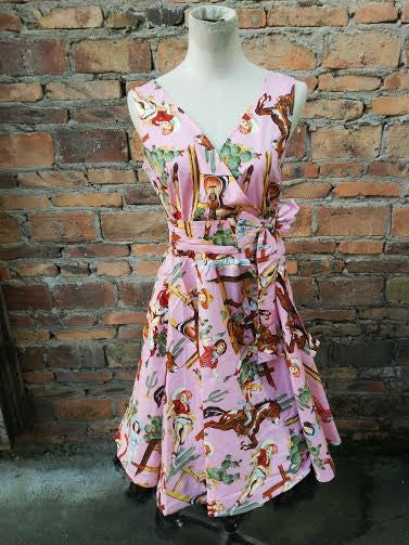 Howdy Cowgirl Tea Dress