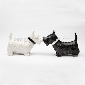 Scottish Terrier Salt & Pepper Shakers