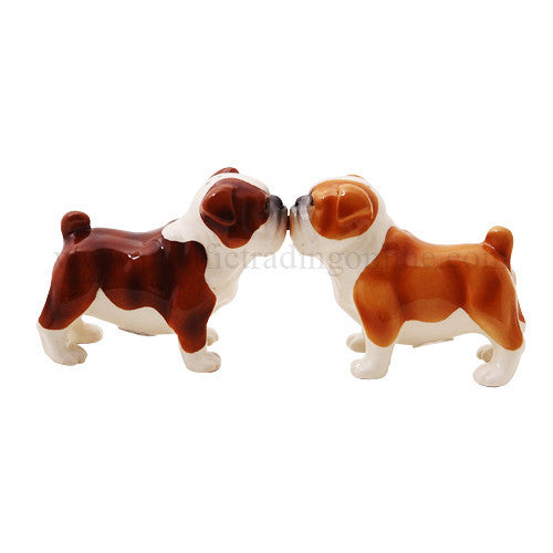 Bulldog Salt & Pepper Shakers