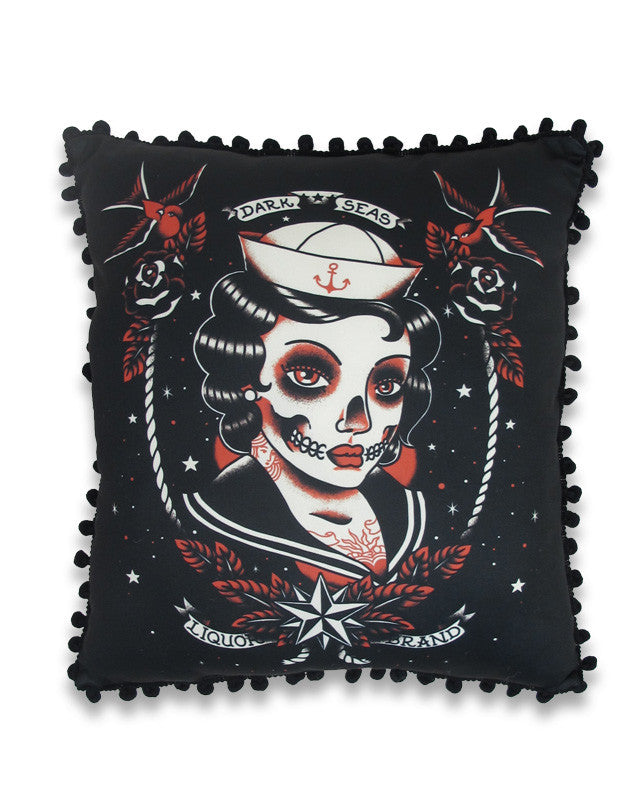 Dark Seas Pillow