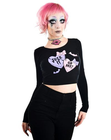 Creepy Love Heart Tee