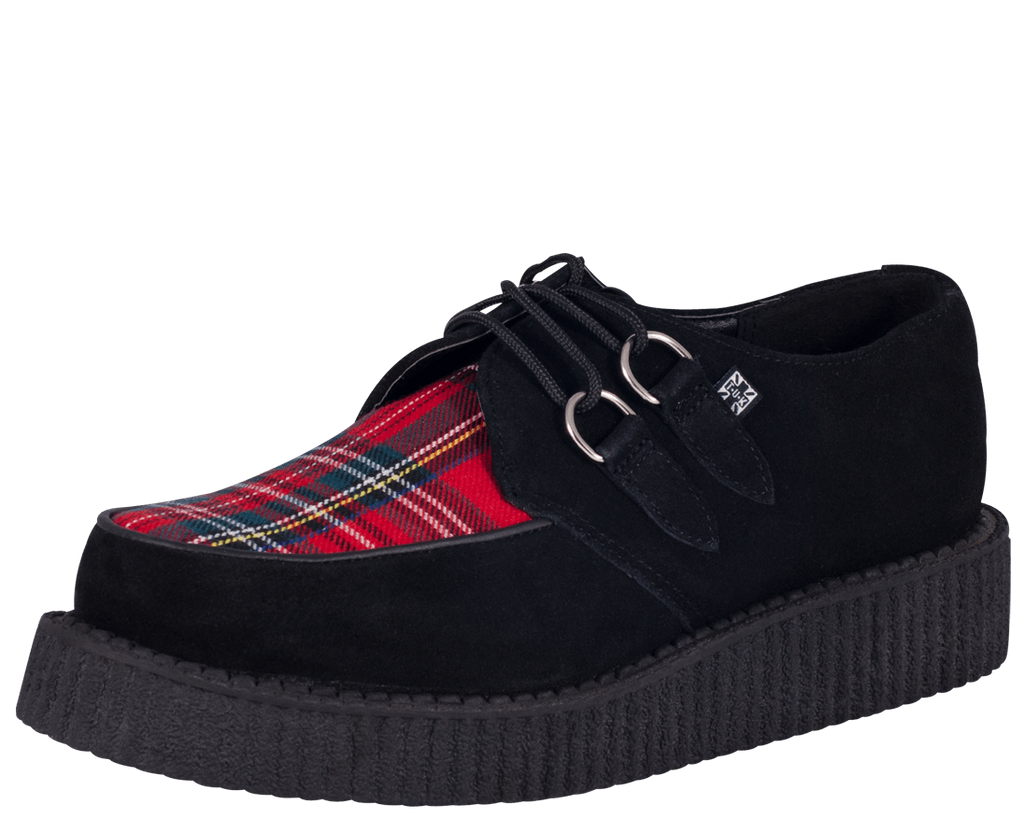 Plaid Creepers size M9/W11 ONLY