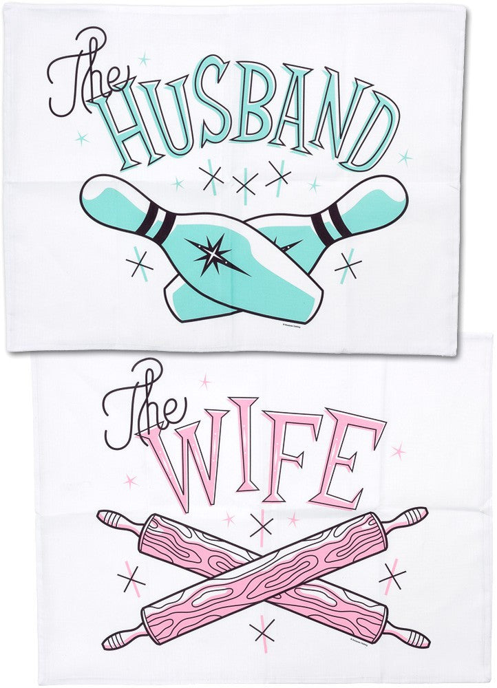Husband & Wife Pillowcase Set