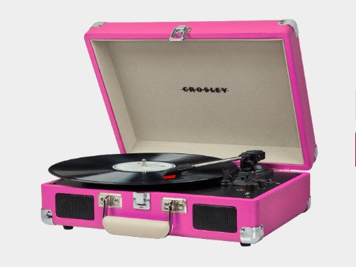 Crosley Cruiser Turntable - Pink