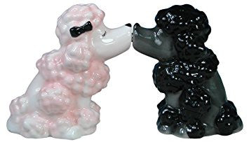 Poodles Salt & Pepper Shakers