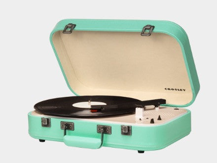 Crosley Coupe Turntable - Teal