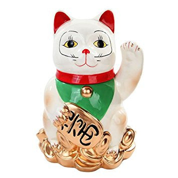 Lucky Cat Cookie Jar