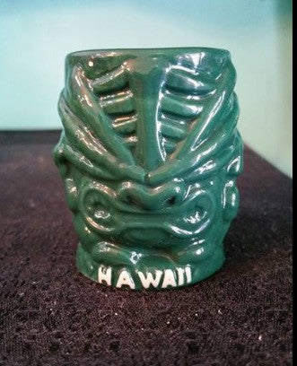 Tiki Menehune Shot Glass