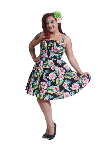 Hibiscus Hunny Shorty Dress