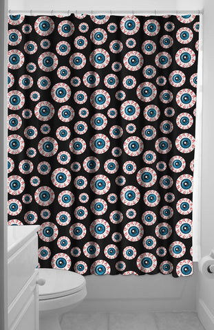 Optical Delusion Shower Curtain