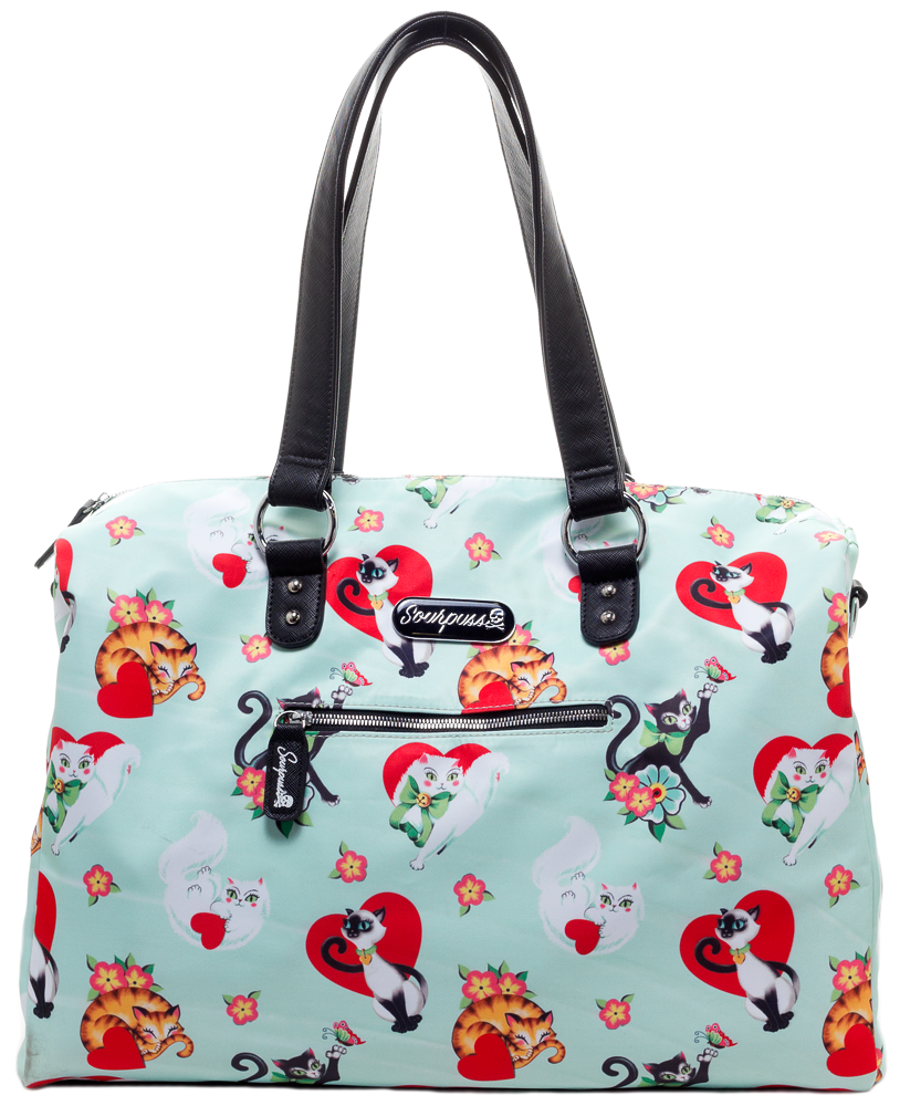 Lovecats Travel Bag