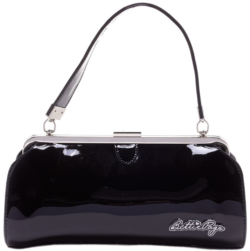 Bettie Page Cover Girl Purse Black