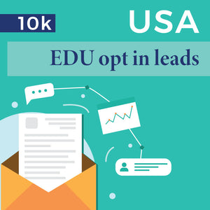 USA EDU opt-In Leads - 10k