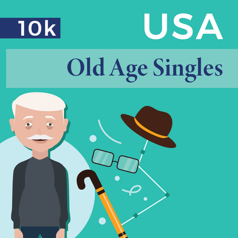 USA Old Age Singles - 10K