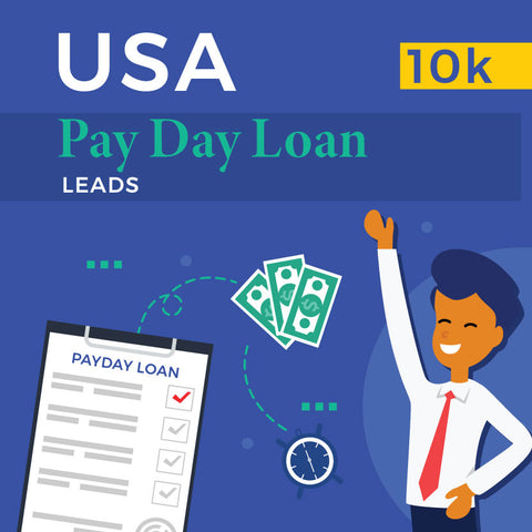 USA Payday Loan Leads - 10k