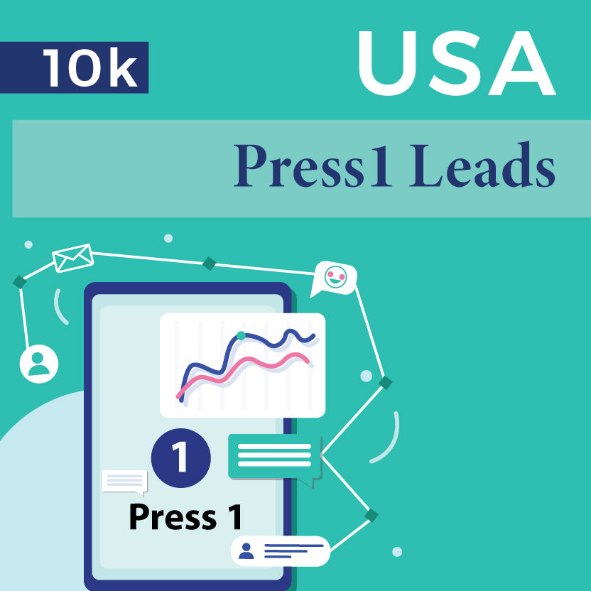 USA Press1 survey Leads - 10k
