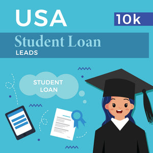 USA Student Loan Leads - 10k