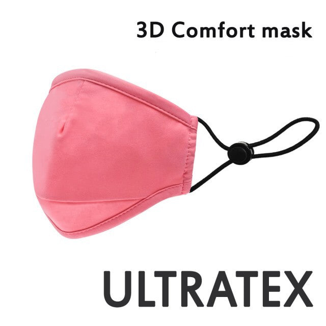 Washable and Adjustable Ultratex 3D Comfort Cloth Mask