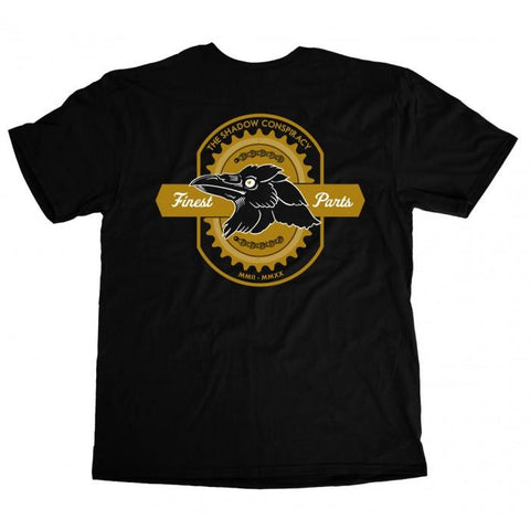 Shadow Finest T-Shirt - Black