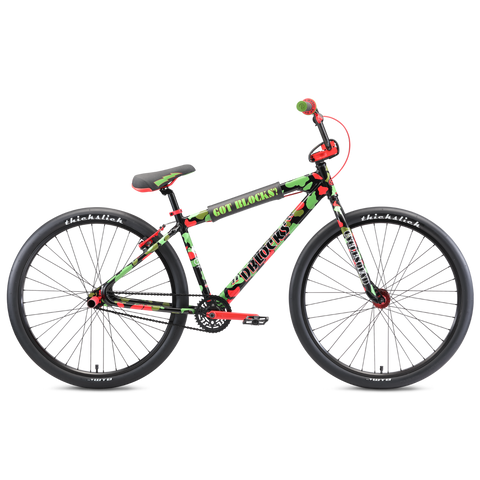 "SE Bikes D Blocks Big Ripper 29"" Bike - Green/Red Camo"