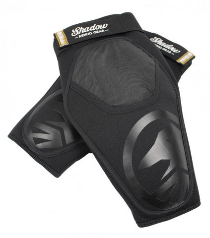 Shadow Super Slim V2 Knee Pads - Black