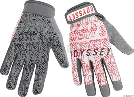 Odyssey Power Gloves White/Red