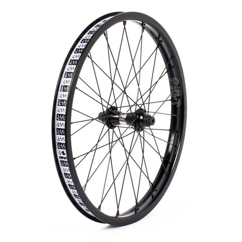 "Cult Crew Match V2 Front Wheel With Guards - Black 10mm (3/8"")"