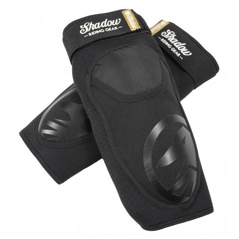 Shadow Jr. Super Slim V2 Knee Pads - Black | BMX